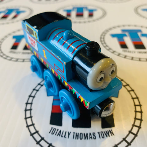 Sodor Day Thomas (2003) Wooden - Used