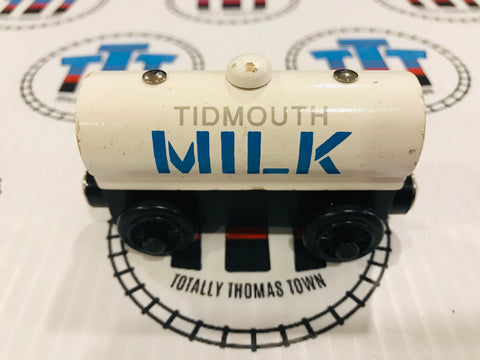 Tidmouth Milk Tanker (2000) Rare Good Condition Wooden - Used