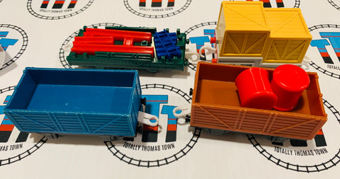 Cargo Cars with Cargo Used - Trackmaster
