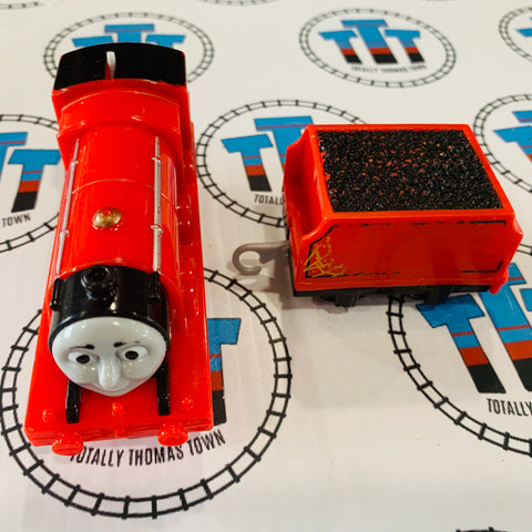 Troublesome Traps James Worn Tender (2013) Mattel Used - Trackmaster