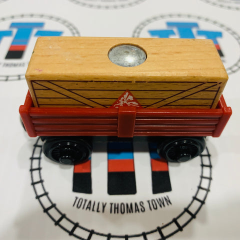 Cargo Car Red with Tan Cargo Wooden - Used