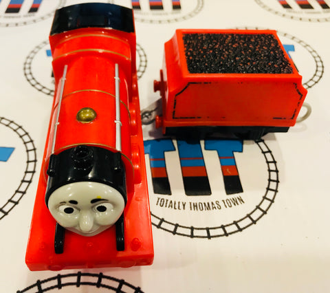 James & Tender Talking (2014) Used - Trackmaster - Totally Thomas Town