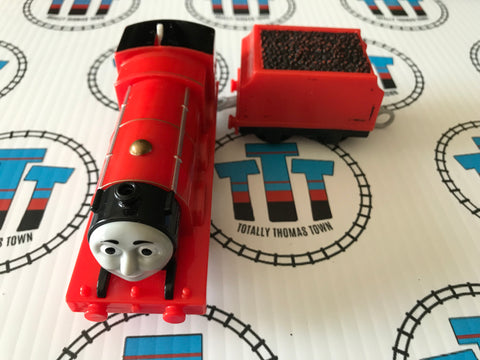 James & Tender (2013) Worn Tender Used - Trackmaster - Totally Thomas Town