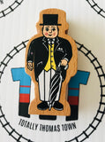 Sir Topham Hatt Wooden - Used - Totally Thomas Town