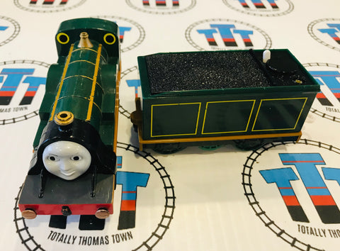 Emily & Tender (2006 Tender 2004 Engine) Good Condition Used - Trackmaster - Totally Thomas Town