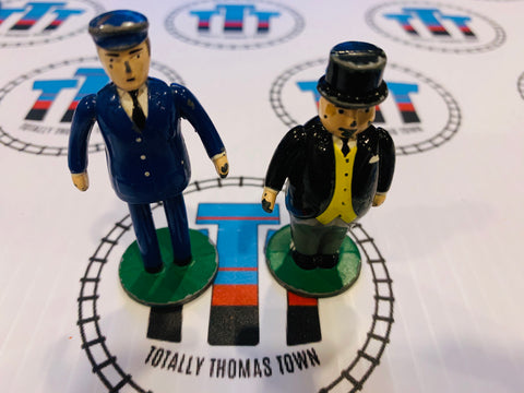 Conductor and Sir Topham Hatt Fair Condition (1990) ERTL - Used
