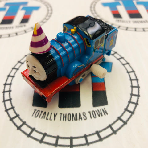 Edward with Party Decorations Capsule Plarail Wind Up - Used