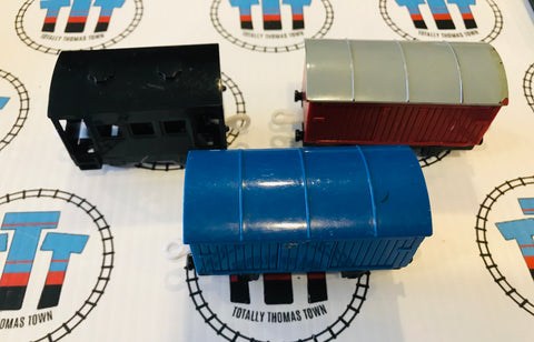 Cargo Pack 3 Pieces Used - Trackmaster - Totally Thomas Town