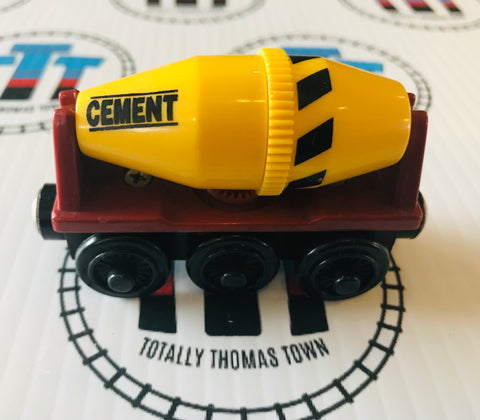 Cement Mixer (2001 - 2003) Good Condition Wooden - Used - Totally Thomas Town