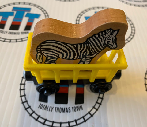 Train with Zebra (2003) Wooden - Used