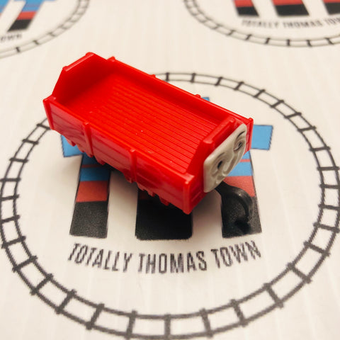 Red Troublesome Truck Pull Along Capsule Plarail - Used