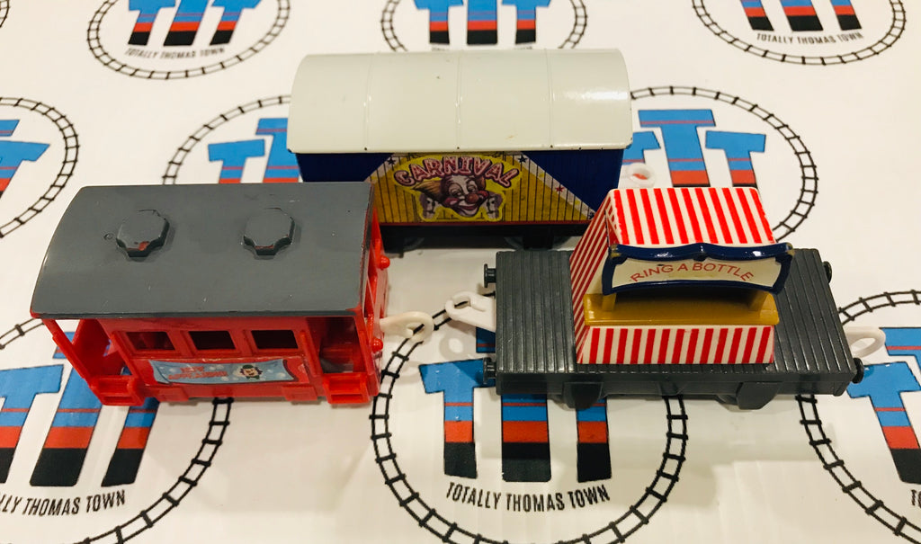 Carnival Set Used - Trackmaster - Totally Thomas Town