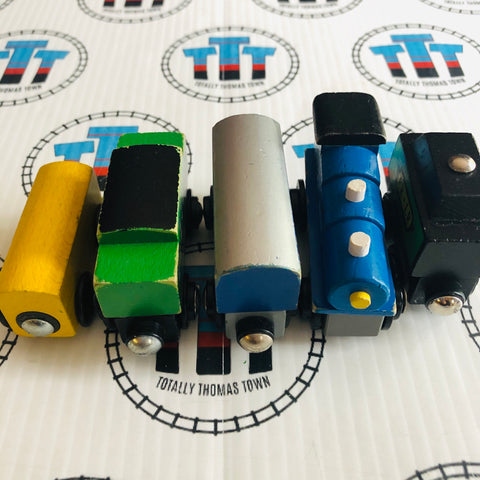 Train Value Pack Wooden - Used