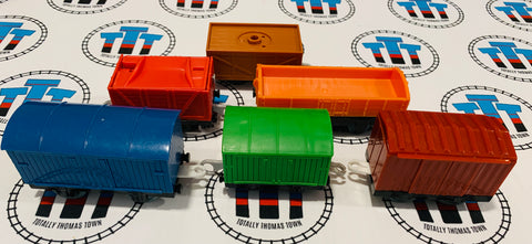 Cargo Cars Value Pack Used - Trackmaster