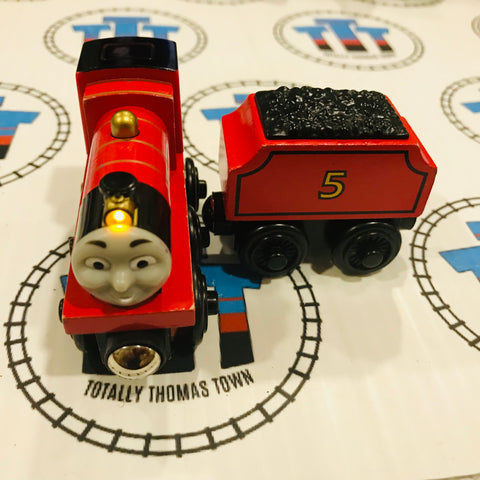 James & Tender James Lights the Way (2003) Good Condition Wooden - Used