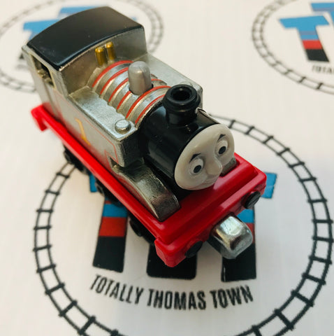 Collector Silver Thomas (2012) Good Condition Used - Take N Play - Totally Thomas Town