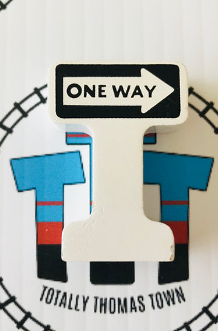 One Way Sign - Used - Totally Thomas Town