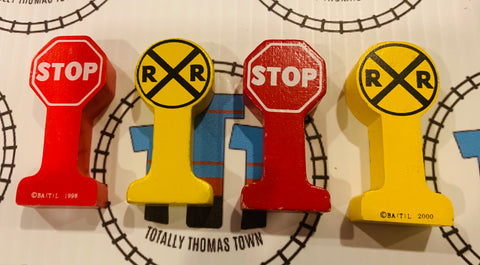 Thomas Wooden Sign Pack - Used