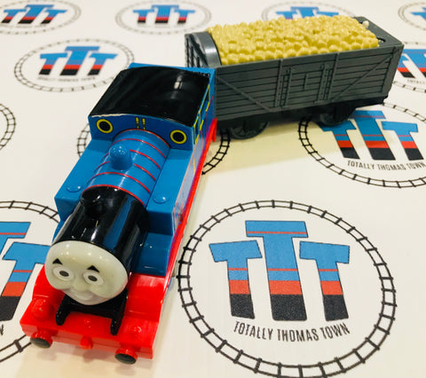 Talking Thomas and Cargo (2009) Good Condition Used - Trackmaster - Totally Thomas Town
