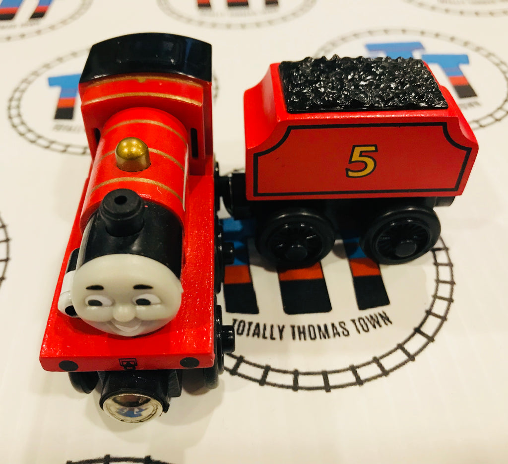 James & Tender Lights & Sound (2003) Very Good Condition Wooden - Used - Totally Thomas Town