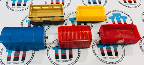 Cargo Car Value Pack Used - Trackmaster