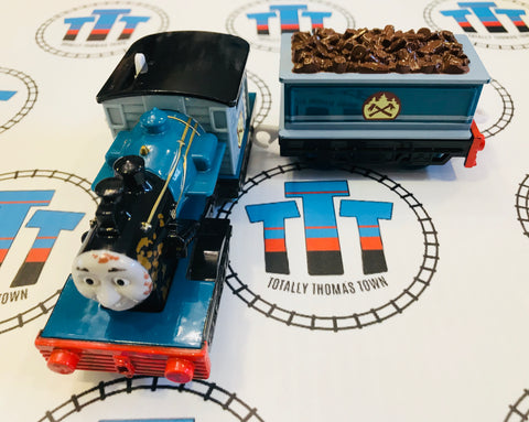 Muddy Ferdinand and Tender (2010) Very Good Condition Used - Trackmaster - Totally Thomas Town