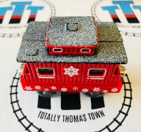 Snowflake Caboose (2002) Good Condition Used - Take N Play - Totally Thomas Town