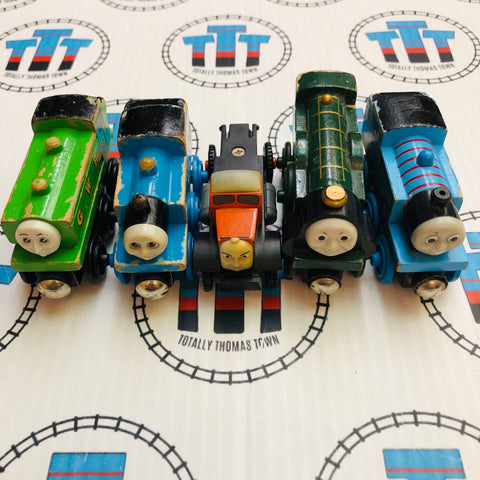 Thomas Train Value Wooden Pack Fair/Poor Condition