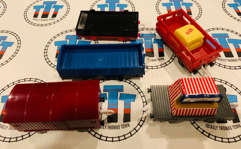 Cargo Pack 5 Pieces Used - Trackmaster