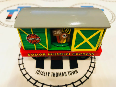 Sodor Museum Express (2003) Good Condition Used - Take N Play - Totally Thomas Town
