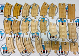 Curved and Straight Track Pack 24 Pieces - Thomas Brand