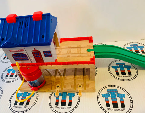 Sodor Search and Rescue with Lights and Sound Good Condition Wooden - Used