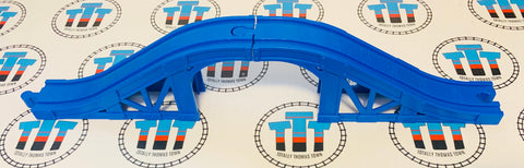 2 Piece Blue Plastic Bridge - Thomas Brand