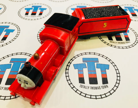 James & Tender Talking (2009) Good Condition Used - Trackmaster - Totally Thomas Town