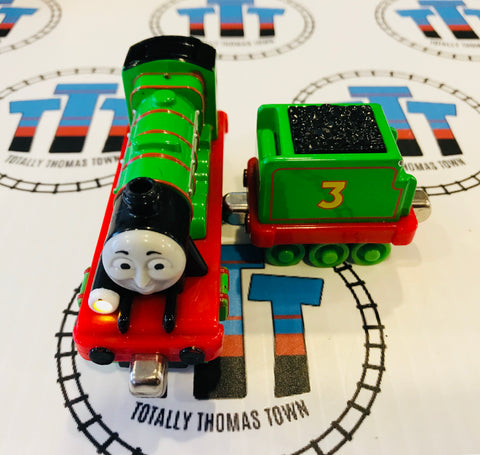 Henry & Tender Talking (2009) Good Condition Used - Take N Play - Totally Thomas Town