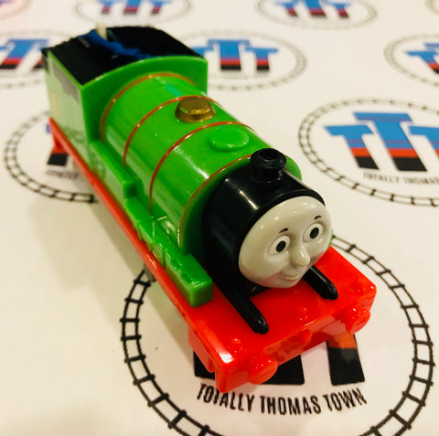 Percy (2013) Good Condition Used - Trackmaster - Totally Thomas Town