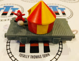 Circus Tent with Moving Clown Used - Trackmaster