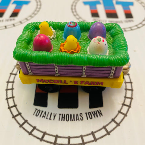 Easter Egg Car (2002) Fair Condition Used - Take N Play