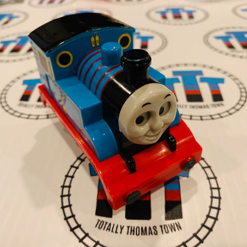 Plastic Pull Back Thomas with Moving Eyes - Used