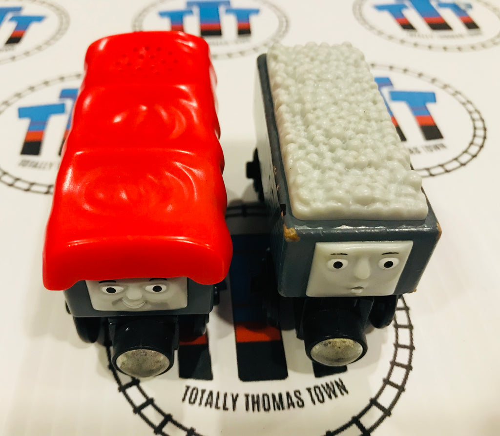 Giggling Troublesome Trucks (2012) Good Condition Wooden - Used - Totally Thomas Town