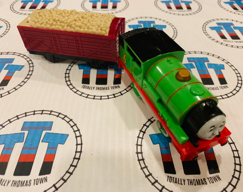Talking Percy and Cargo (2009) Good Condition Used - Trackmaster