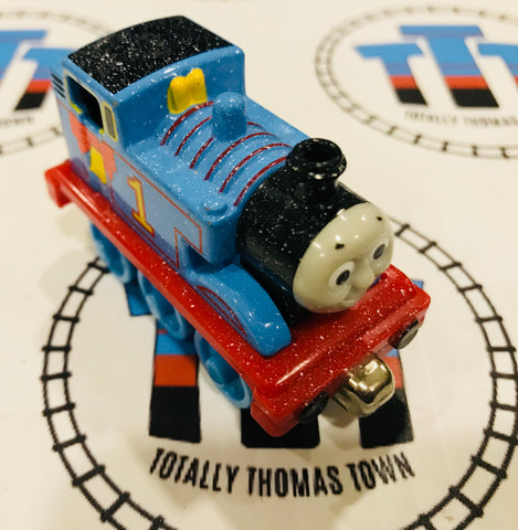 Holiday Thomas with Bell (2002) Used - Take n Play - Totally Thomas Town