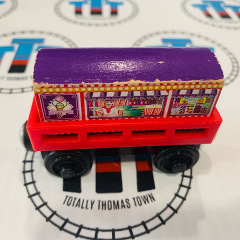 Cargo Car Red with Ice Cream Cargo Wooden - Used