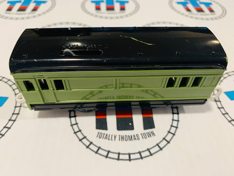Green Passenger Car (2002) Good Condition Used - TOMY