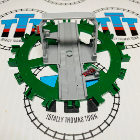 Green and Grey Deluxe Turntable Capsule Plarail - Used