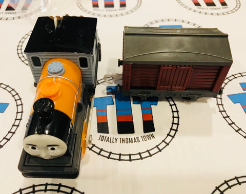 Dash and Cargo Car (2009) Good Condition Used - Trackmaster - Totally Thomas Town