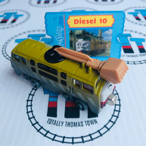 Diesel 10 with Character Card (2002) Very Good Condition Used - Take N Play