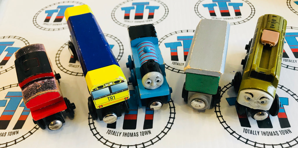 Train Value Wooden Pack - Totally Thomas Town