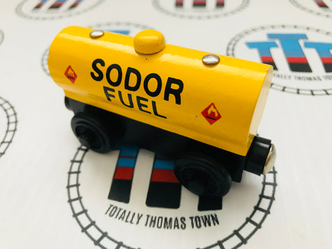 Sodor Fuel Tanker (2000) Good Condition Wooden - Used - Totally Thomas Town