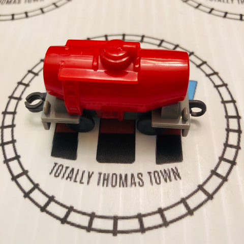 Red Tanker Pull Along Capsule Plarail - Used